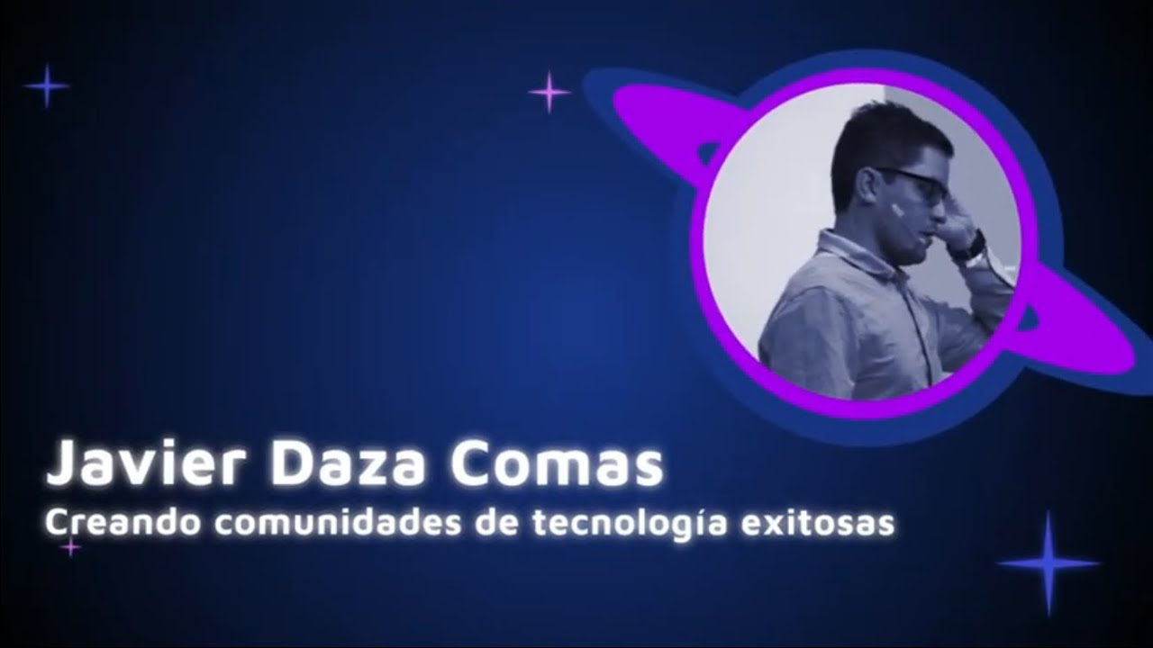 Image from Javier Daza Comas - Creating succesfull tech communities - Pycon Colombia 2019