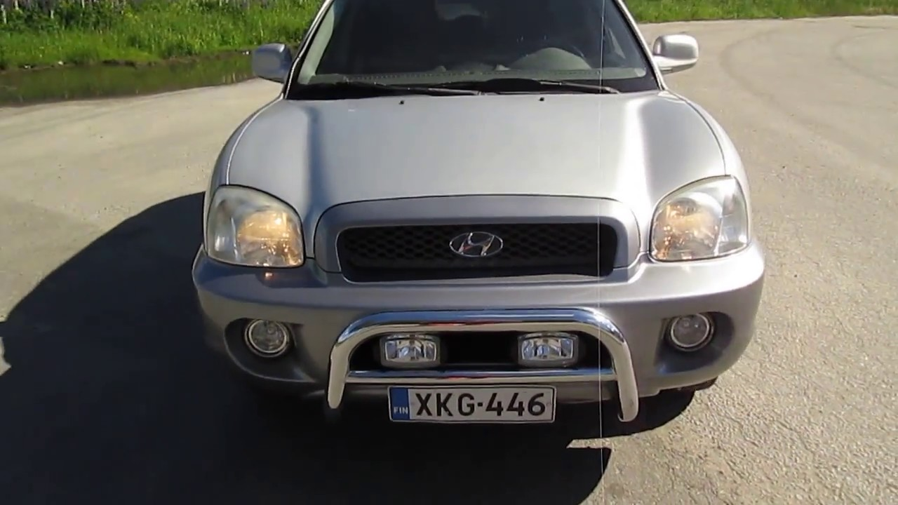 Superior Hyundai Santa Fe 2.0 CRDi  2005