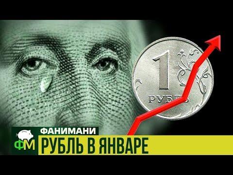 Рубль в январе // Фанимани