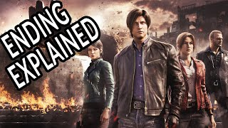 RESIDENT EVIL: INFINITE DARKNESS Ending Explained & Connection to the RE Universe!
