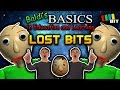 Baldi's Basics LOST BITS | Unused Content [TetraBitGaming]