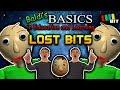 Baldi's Basics LOST BITS   Unused Content [TetraBitGaming]