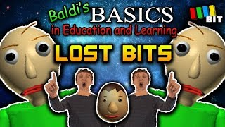 Baldi's Basics LOST BITS | Unused Content [TetraBitGaming] thumbnail