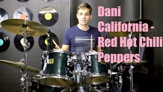 Dani California Drum Tutorial - Red Hot Chili Peppers