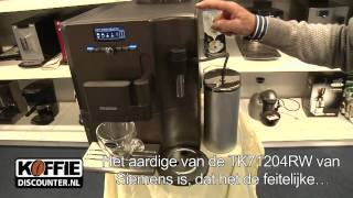 siemens tk71204rw espressomachine tk71204 rw een top espressoapparaat uit de siemens eq7 serie
