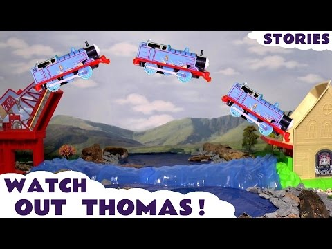 Thumbnail: Thomas & Friends Watch Out Thomas The Tank Engine Toy Trains for Kids Stories with Minions TT4U