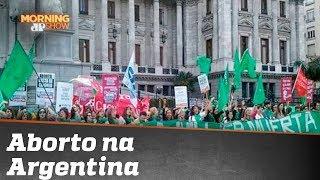 Legalização do aborto avança na Argentina