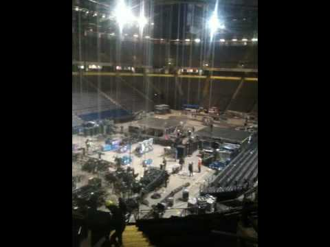 Inside the Manchester Arena