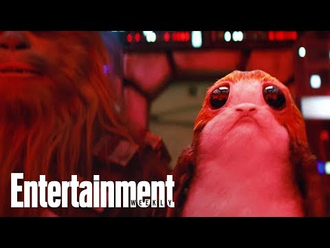 Exclusive First Look At The 'Star Wars: The Last Jedi' Creatures Of Ahch-To | Entertainment Weekly