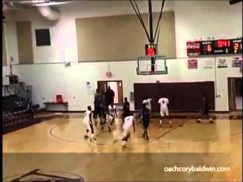 Dre Holmes 13-14 South Georgia State College Hawks Basketball