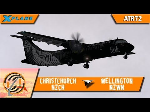 [X-PLANE] Christchurch [NZCH] to Wellington [NZWN] | ANZ5366 | ATR72 [IVAO]