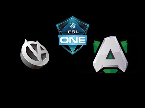 VG vs Alliance ESL One Hamburg 2018 Highlights Dota 2