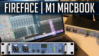 Fireface UCX with M1 MacBook Pro and External Synth