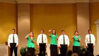 Harvest Deaf Bible College Choir - DBFA 6.28.10
