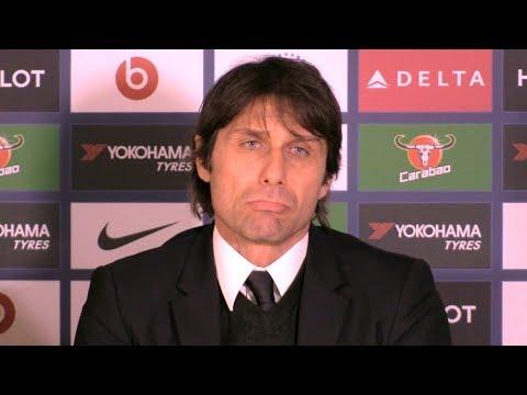Chelsea 0-0 Leicester - Antonio Conte Post Match Press Conference - Premier League #CHELEI