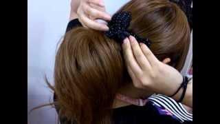 サマー☆カジュアルまとめ髪スタイル