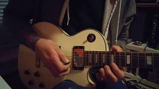 The Darkness Why Don't the Beautiful Cry guitar solo lesson how to play