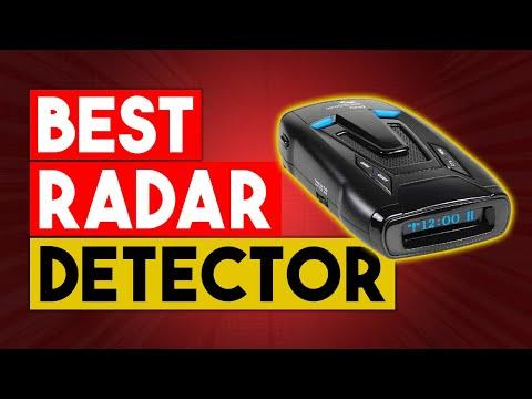 Best Radar Detector -  Top 8 Best Radar Detectors In 2021