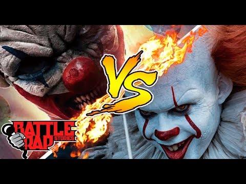 🎈🎈PENNYWISSE (IT) VS CLOWNTERGEIST 🎈🎈- IVANGEL MUSIC | BATALLAS DE RAP