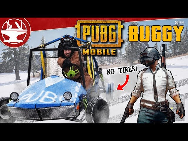 We Made the Buggy from PUBG Mobile! (Vikendi in Real Life!)