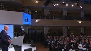World leaders gather to discuss global safety at Munich Security Conference