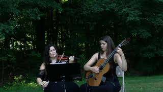 Can't Help Falling in Love performed by Ariana Strings violin and guitar duet