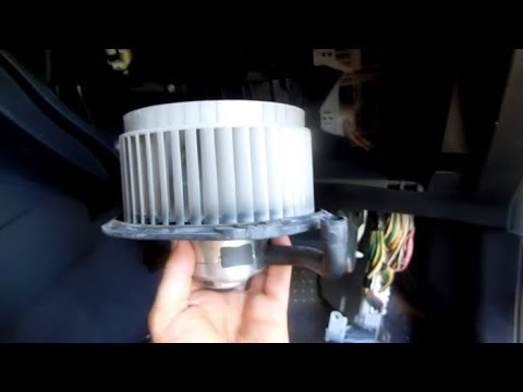 Blower Motor Resistor Replacement Pontiac Vibe AC Heater - YouTube