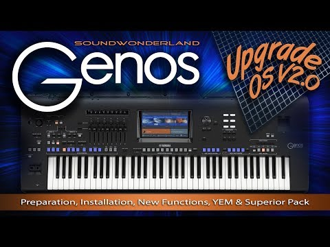 Yamaha Genos Upgrade Guide For OS V2.0 And Superior Pack By Soundwonderland - English & German