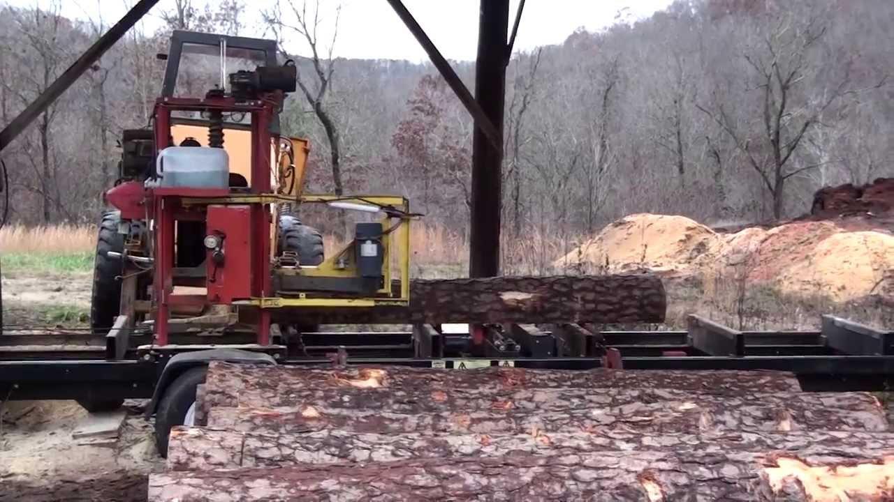Timberking B-20 Sawmill