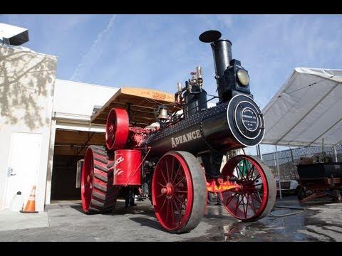 1906 Advance Steam Traction Engine - Jay Leno