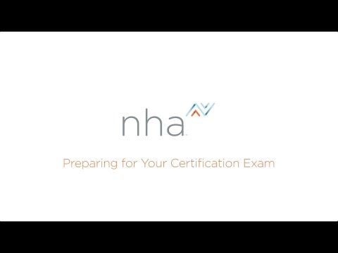 Registering and Preparing for Your NHA Certification Exam - YouTube