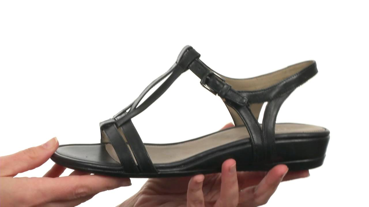 b0e33a334fc0 ECCO Touch 25 T-Strap Slide SKU 8491317 - YouTube