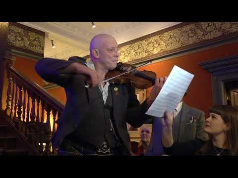 Paul Anderson, Scottish Fiddler, performs a new composition called The Fife Arms Braemar, Nov 2018