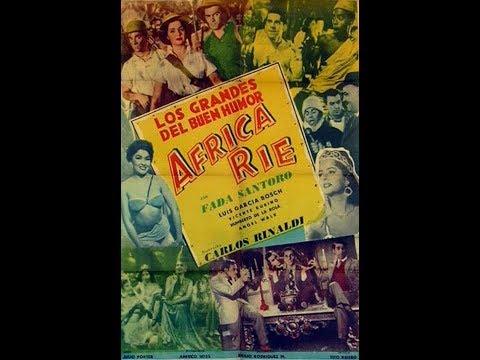 Cine Argentino - ÁFRICA RIE - 1956 - Los Grandes del Buen Humor