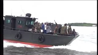 Nigerian Army Commissions Gun Boats