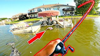 FISHING TOURNAMENT WIN!! Flipping Under Boats for BIG BASS!!