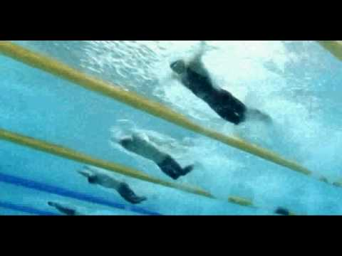 Michael Phelps 100m Fly Beijing (Underwater View)