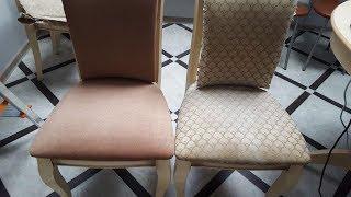 Как самому поменять обивку стула.
