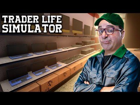 TRADER LIFE SIMULATOR #10 | CARREGUEI O CARRO ATÉ AO TALO