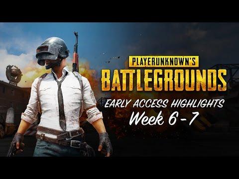 PLAYERUNKNOWN'S BATTLEGROUNDS - Early Access Highlights Week 6-7