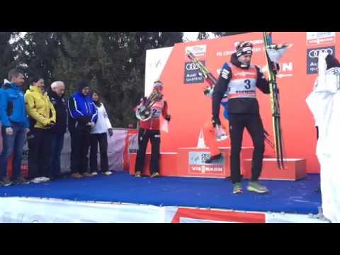 Tour de Ski 2017 - Men's Prize Giving Ceremony