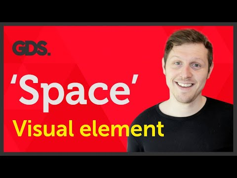 'Space' Visual element of Graphic Design / Design theory Ep6/45 [Beginners guide to Graphic Design]