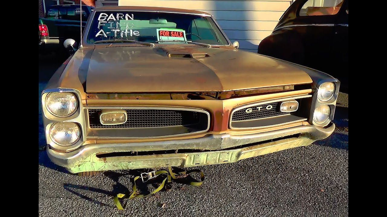 Pontiac Gto 2014 >> Barn Find 1966 Gto 10 25 14 Sold Sold Sold 2014