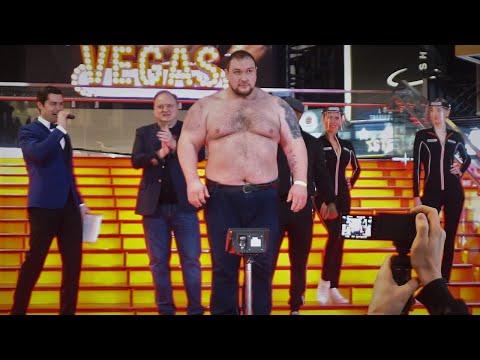 Показал 190 кг НА ВЗВЕШИВАНИИ В БОКСЕ / Рой Джонс ПРИВЕЛ ДАЦИКА / Кокляев тяжелее Тарасова на 45 кг