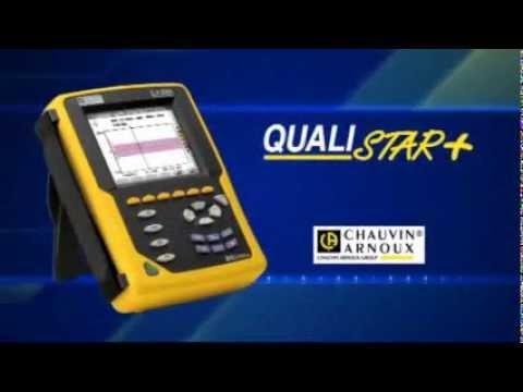 Qualistar+ Analyseur de puissance Chauvin Arnoux