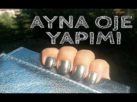 Ayna Oje | Mirror Powder | Chrome Nails