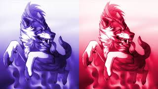 Anime wolves-Warrior