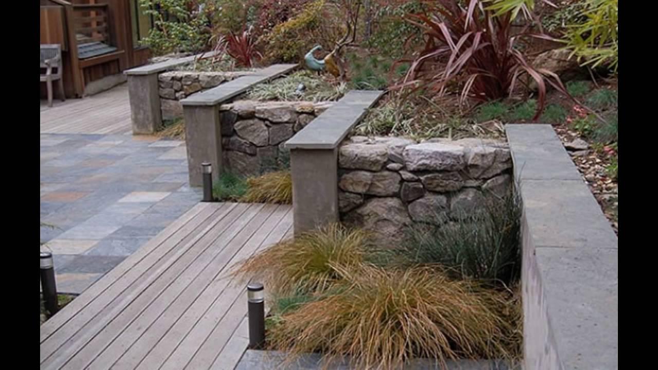 Garden Retaining Walls   YouTube