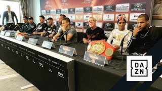 WBSS Glasgow: Inoue vs. Rodriguez // Taylor vs. Baranchyk Final Press Conference