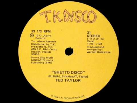 Ted Taylor - Ghetto Disco (1977)